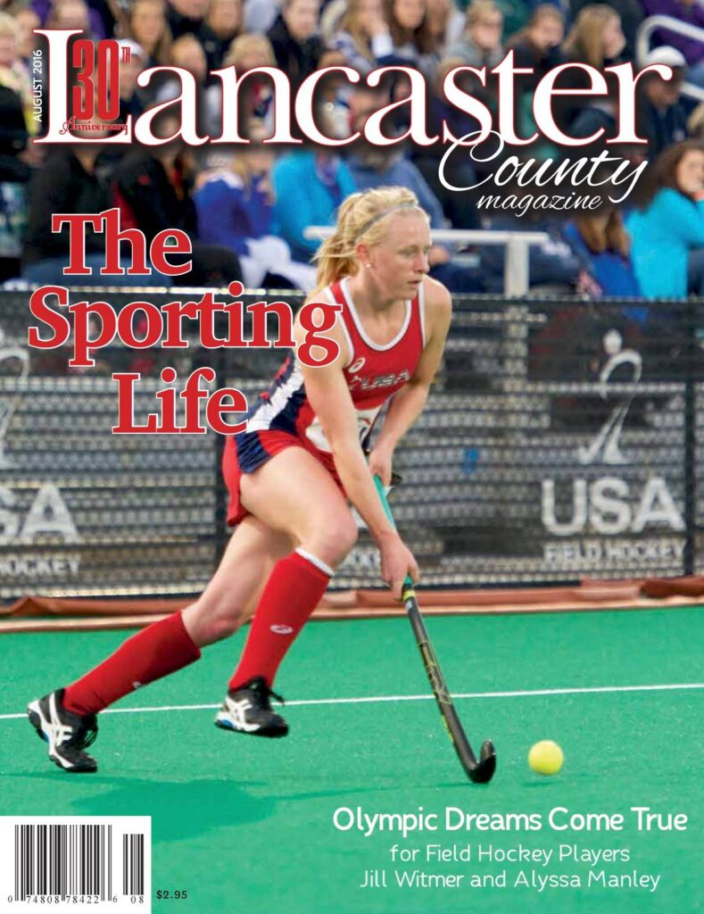 Lancaster County Magazine August 2016 Rio Olympic Games Women's Field Hockey Team