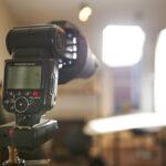 Photography Lighting Flash On Lightstand
