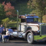 Peterbilt Trucking Earl R Martin Old Clyde 1965