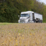 Peterbilt Hauling Trucking Commercial Photography